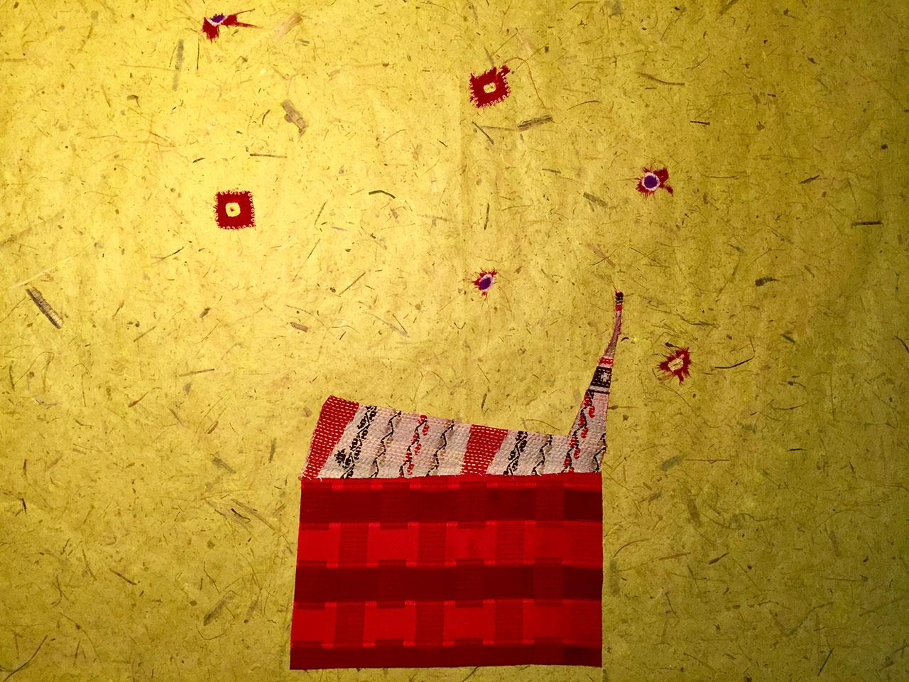Livia Liverani - Casa rossa con stelle